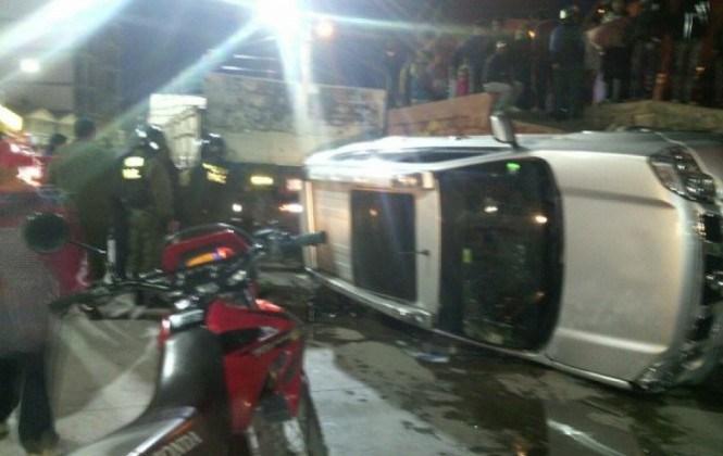 Potosí: jefe policial se accidenta con cerveza decomisada y dice que no estaba ebrio