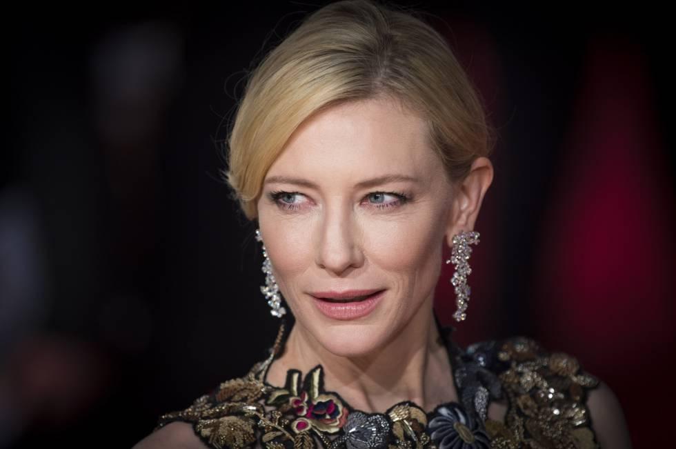 Cate Blanchett, el pasado febrero.