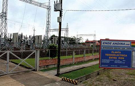 La planta termoeléctrica de Entre Ríos