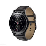 Correa de cuero negro del Samsung Gear S2