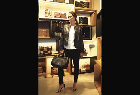 Alison fue una de las modelos seleccionadas desde España