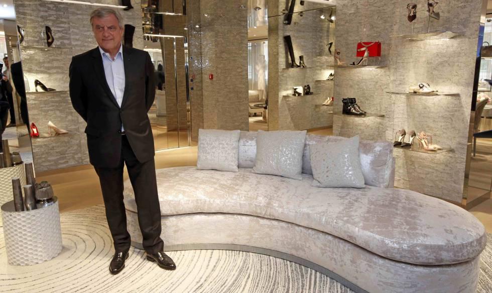 Sidney Toledano, director ejecutivo de Dior, en la tienda de Cannes.