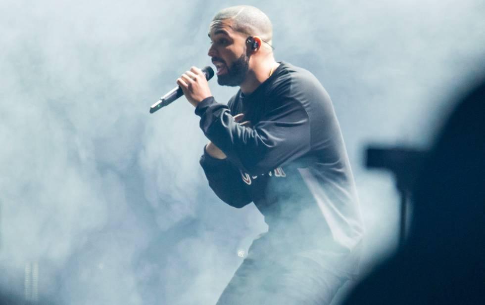 El cantante Drake, durante un concierto en Atlanta el pasado septiembre.