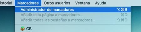Marcadores Chrome
