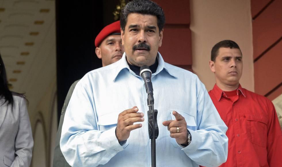 Nicolás Madruro, presidente de Venezuela