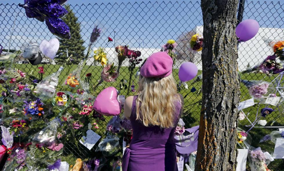 Uno de los múltiples homenajes rendidos a Prince tras su muerte.