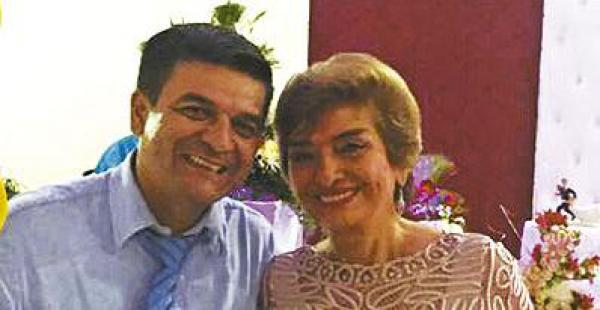 Líder Justiniano y Esther Velasco