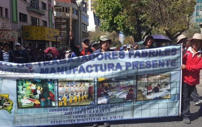 COB articula pedido de derogación del decreto de cierre de Enatex y alista masiva marcha