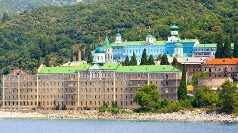Llegar a Monte Athos es como viajar al pasado.