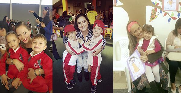 Verónica Larrieu, Alejandra Áñez y Elina Laurinavicius rebosantes de alegría