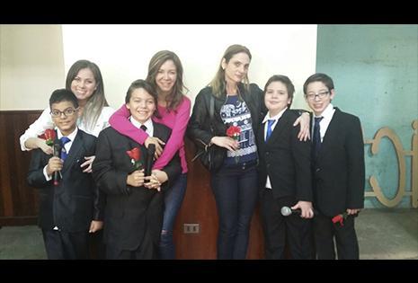 Vanessa Áñez orgullosa de José Luis