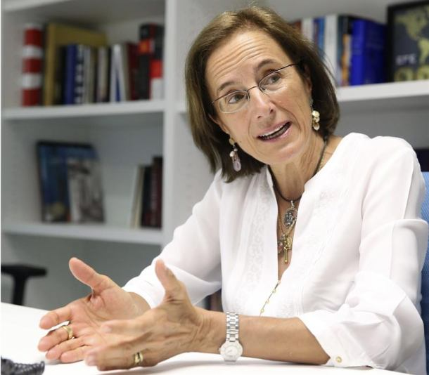 periodista española Salud Hernández