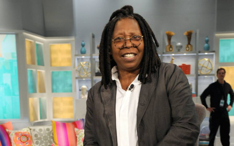 Whoopi Goldberg en su programa 'The View'.