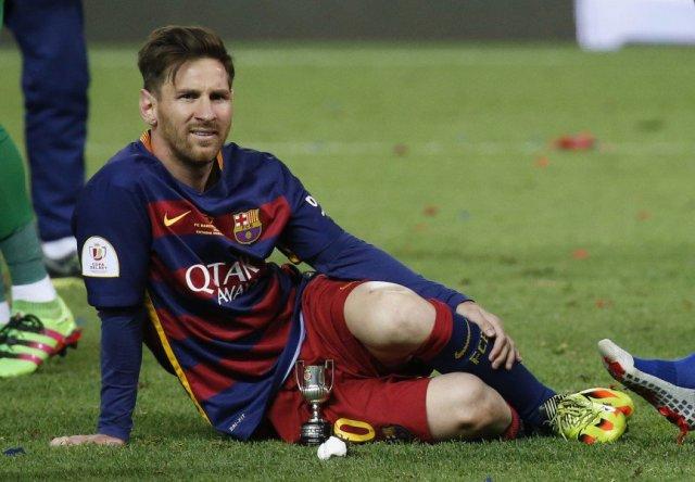 Lionel Messi, delantero del Barcelona (Foto: Reuters)
