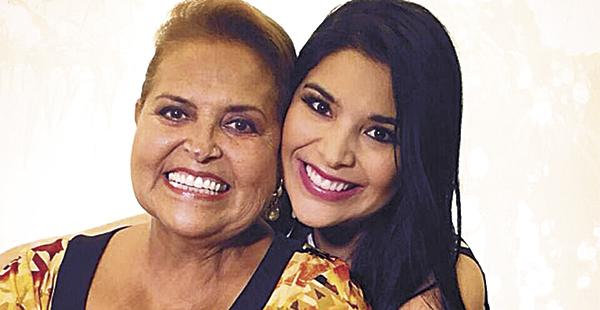 Gloria Mariana Limpias y Gloria Suárez de Limpias