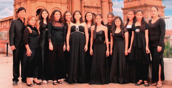 El coro presentará una selección de 12 temas como Alma cruceña y Narajitay