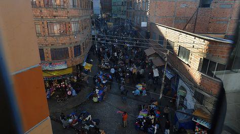 Barrio Chino de La Paz