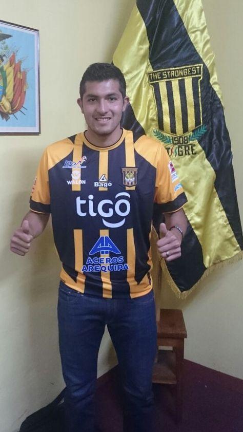 Pablo Pedraza ya luce la camiseta atigrada.