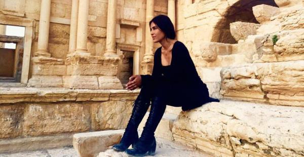 Carla Ortiz en Siria