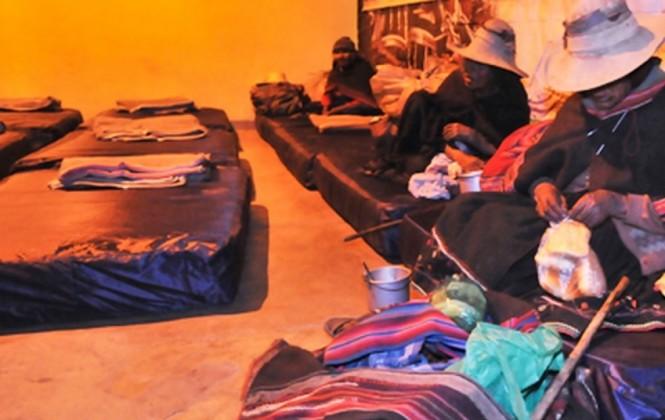 Se triplica el número de personas acogidas en el albergue de la Terminal de Buses