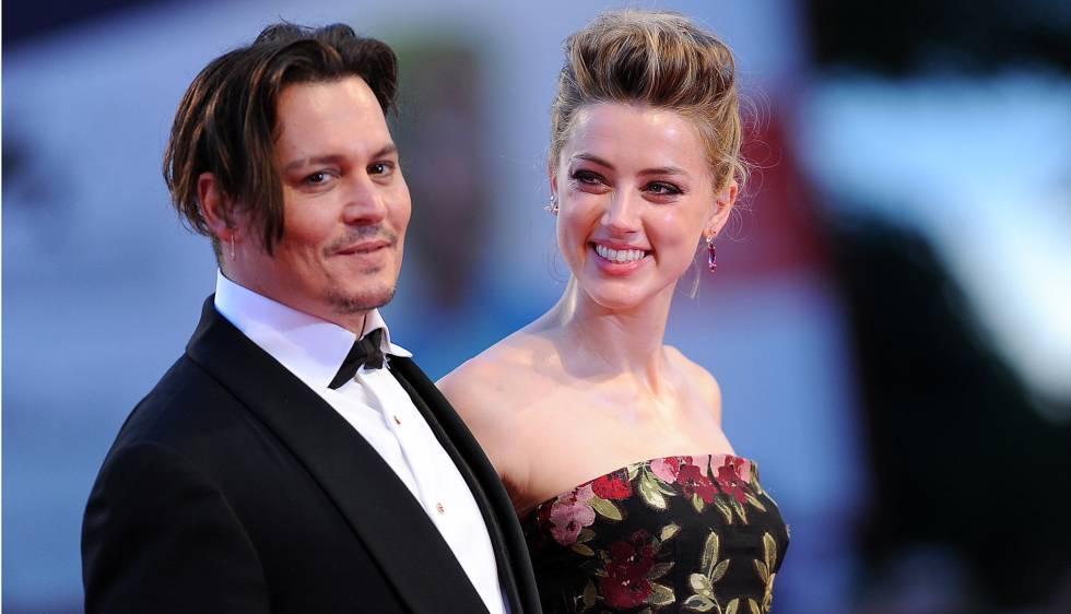 Johnny Dep y Amber Heard, en pasado septiembre en Venecia.