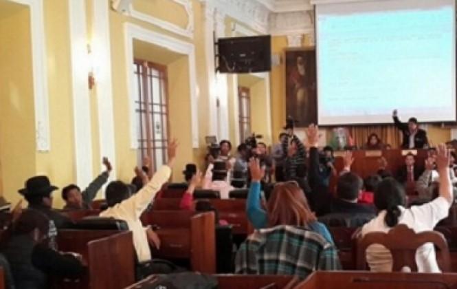 Legislativo de La Paz culmina primer año de mandato bajo el signo de la corrupción y la discriminación