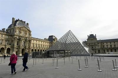 El museo del Louvre, en París. / AFP