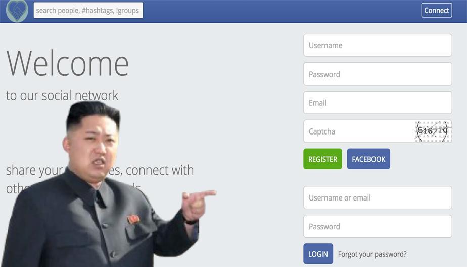 Así luce Startcon, la red social de Corea del Norte. ¿Se parece a Facebook?. (Foto: Captura/ motherboard)