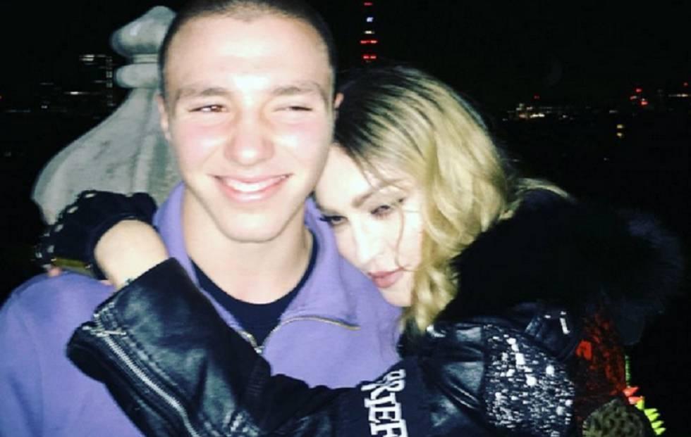 Rocco y Madonna, en Londres.