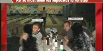 Los supuestos terroristas se mostraban como turistas
