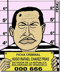 caricatura chavez