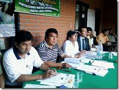 Chavez, Nuni y representante del Alto Comisionado