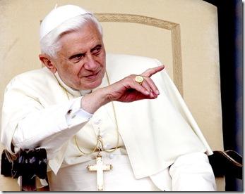 EL VATICANO - PAPA BENEDICTO XVI