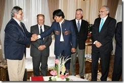 Jefe de Estado agradece orientación de ex mandatarios en el tema marítimo