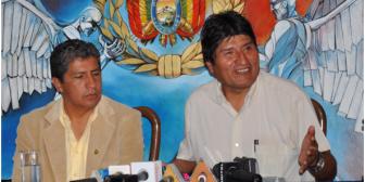 Bolivia apostará por el diálogo con Chile para resolver diferendo del Silala y el Lauca: Morales
