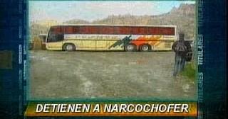 Incautan más de 40 kilos de cocaína en un bus de flota Cosmos