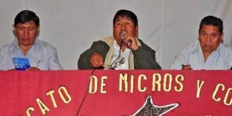 "Rechazo a amnistía para ""chutos"", Confederación de Transporte instruye bloqueo nacional de carreteras"