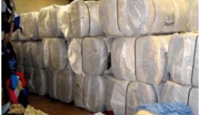 Chile decomisa 30 toneladas de ropa usada con destino a Bolivia