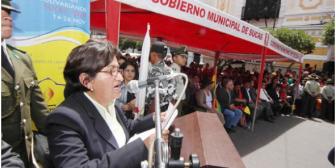 Ex alcaldesa de Sucre apelará detención domiciliaria dictada por juez