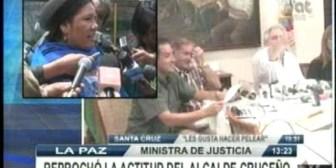 La prensa exige respeto. Gobierno reprocha actitud de alcalde Percy Fernández