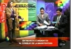 El canal estatal infringió reglamento de difusión de méritos de elección judicial