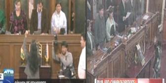 Dos mujeres mandan en la ALP: Montaño en Senadores y Delgado en Diputados