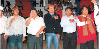 Trujillo, el nuevo líder de la COB, ofrece diálogo al gobierno