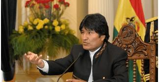 Morales envía al Legislativo proyecto de ley para utilizar $us 1.200 millones de las RIN