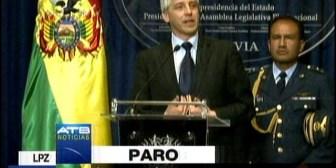 Vicepresidente califica de criminales a quienes acataron el paro médico