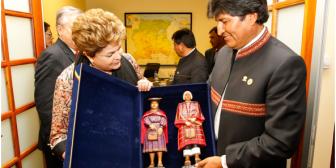 Rousseff y Morales se reunirán en Brasil a mediados de septiembre para ajustar agenda bilateral
