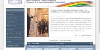 Radios. La pagina web de la Vicepresidencia fue hackeada, García sospecha de EEUU