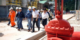 Inauguran planta de Itau para aumentar procesamiento de gas natural