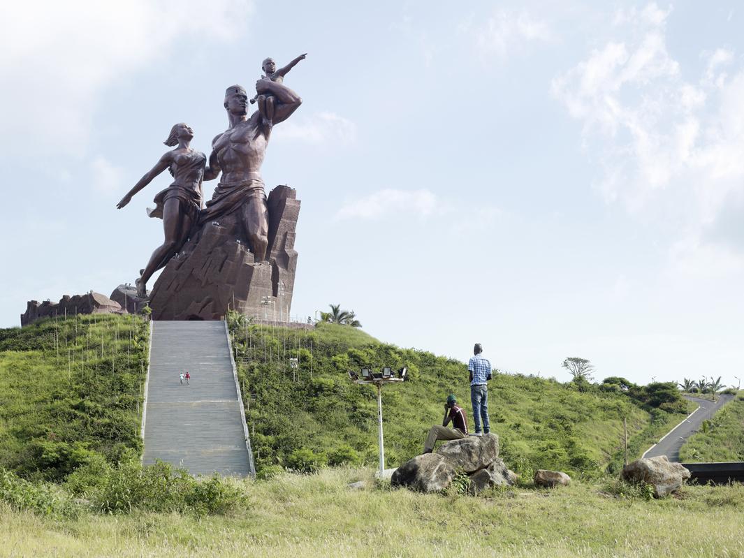 Bildergebnis für african renaissance monument