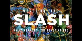 Slash regresa a los escenarios con nuevo álbum solista